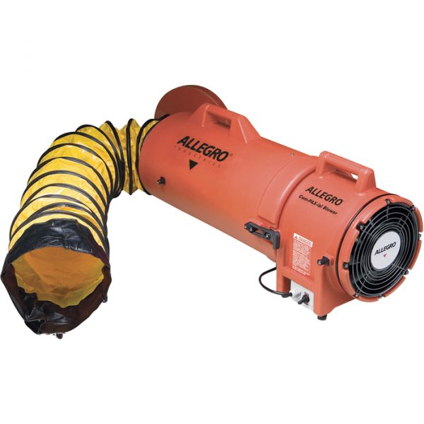 Allegro Industries Plastic Compaxial Blower