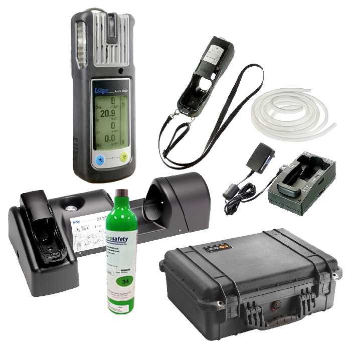 Drager X-am 2500 4-Gas Detector Package A - EnviroSafety