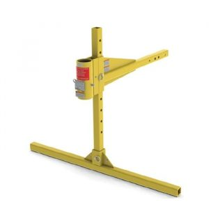 Vehicle Hitch Mount Davit Arm Base