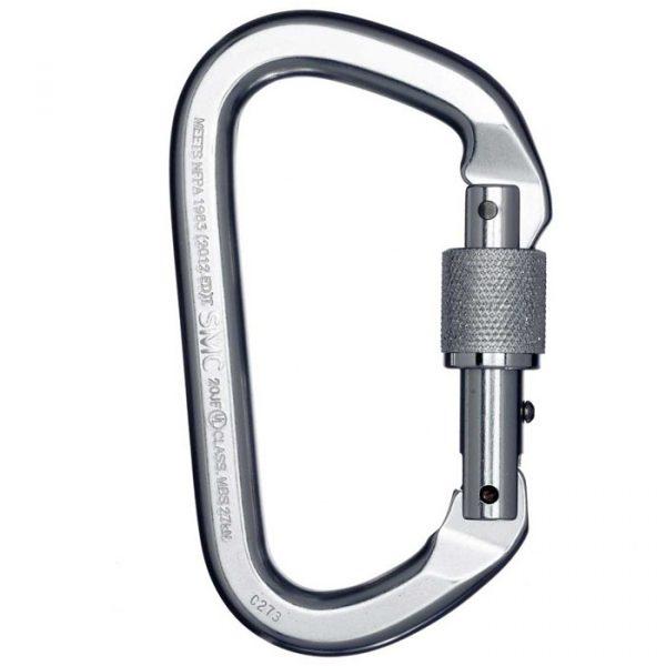 SMC DualGuard Auto-Lock Lite Steel Carabiner-NFPA - PMI SM102200N