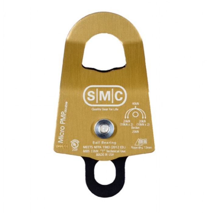 SMC Micro (1 3/8″) PMP Double – NFPA (Gold) HomeRescueSmc micro (1 3/8″) pmp double – nfpa (gold) - PMI SM154000N