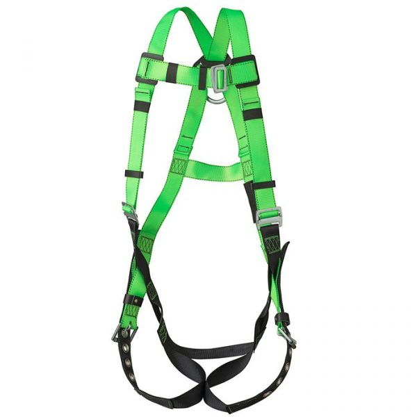 Contractor Harness – 1D – Class A – Pass-Thru Chest Buckle – Grommeted Leg Straps - PW V8002200