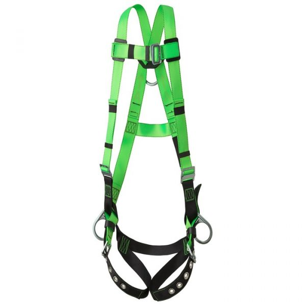 Contractor Harness – 3D – Class AP – Pass-Thru Chest Buckle – Grommetted Leg Straps- PW V8002210